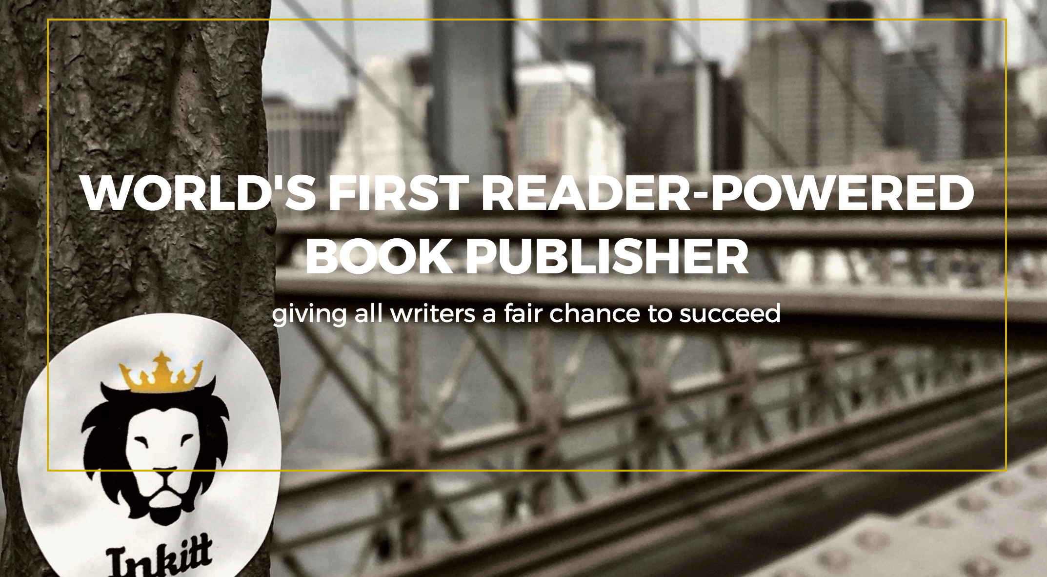 The World's First Reader-Powered Book Publisher